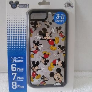 Disney Parks Mickey D-Tech iphone 6s+ 7+ 8+ Case